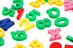 Various letters Stock Photo