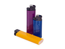Various lighters Stock Images