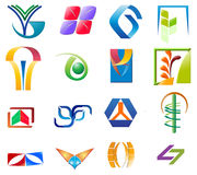 Various logo colletions Stock Photography