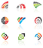 Various logos. To go with your company name royalty free illustration