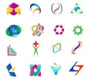 Various Logos Royalty Free Stock Photography
