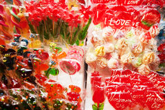 Various Lollipops for Sale Royalty Free Stock Images