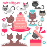 Various lovely kittens Stock Images