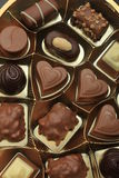 Various luxurious chocolates Royalty Free Stock Photography