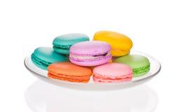 Various macaron cakes Stock Photography