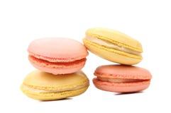 Various macaron cakes. Royalty Free Stock Photos