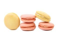 Various macaron cakes. Royalty Free Stock Photo