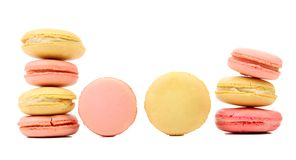 Various macaron cakes. Stock Images