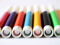 Various Magic Markers 4 Stock Photography
