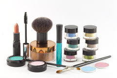 Various make-up cosmetics. Royalty Free Stock Photography