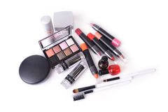 Various of makeup accessory. Stock Photography