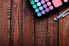 Various makeup products Royalty Free Stock Photo