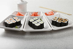 Various maki Royalty Free Stock Photography