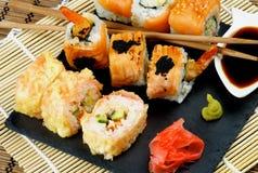 Various Maki Sushi Stock Images