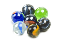Various marbles Stock Photos
