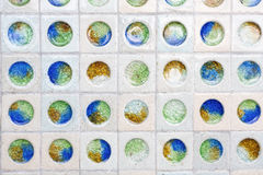 Various of marbles glass background Royalty Free Stock Photography