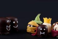 Various marshmallows concept Halloween Children Royalty Free Stock Image