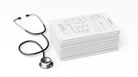 Various Medical Equipment Royalty Free Stock Image