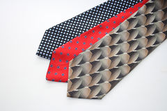 Various mens neckties Royalty Free Stock Photography