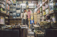 Various merchendice store Stock Image