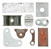 Various metal piece Stock Images