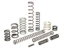 Various metal springs Royalty Free Stock Photos