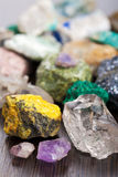 Various minerals Royalty Free Stock Photography