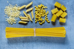 Various mix of pasta Royalty Free Stock Image