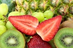Various and mixed fruits Royalty Free Stock Image
