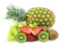 Various and mixed fruits Royalty Free Stock Photo