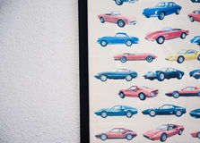 Various models of cars. Photo of various models of cars royalty free stock photography