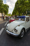 Various modifications Volkswagen Beetle standing in a row. Stock Photography