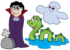 Various monsters collection 1 Royalty Free Stock Photos