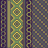 Various motifs in assorted color Stock Images