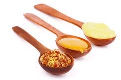 Various Mustard Stock Image