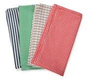 Various napkins Stock Image