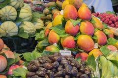 Various natural fruit Stock Photos