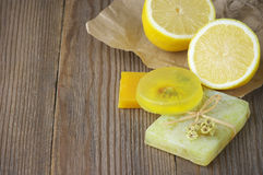 Free Various Natural Soaps Stock Photography - 52501352