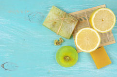 Free Various Natural Soaps Stock Images - 54022304