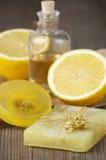 Various natural soaps Stock Photos