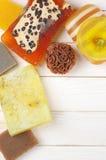 Various natural soaps Royalty Free Stock Image