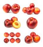 Various nectarines Royalty Free Stock Photography