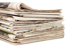 Various newspapers Royalty Free Stock Image