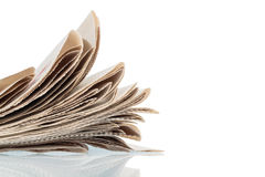 Various newspapers Royalty Free Stock Photo