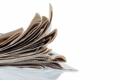 Various newspapers. Various magazines, symbolic photo for news, print media and diversity of opinion Royalty Free Stock Photography