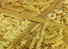 Various noodles Stock Images