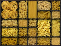 Various noodles Royalty Free Stock Image