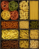 Various noodles Stock Image