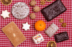 Various nuremberg gingerbreads Royalty Free Stock Images
