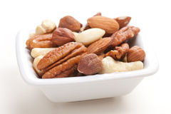 Various nuts Royalty Free Stock Photo
